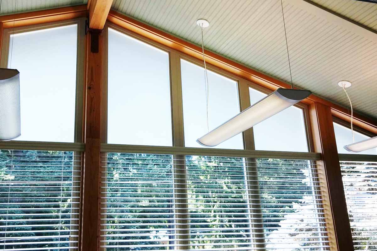 frosted window film small office windows