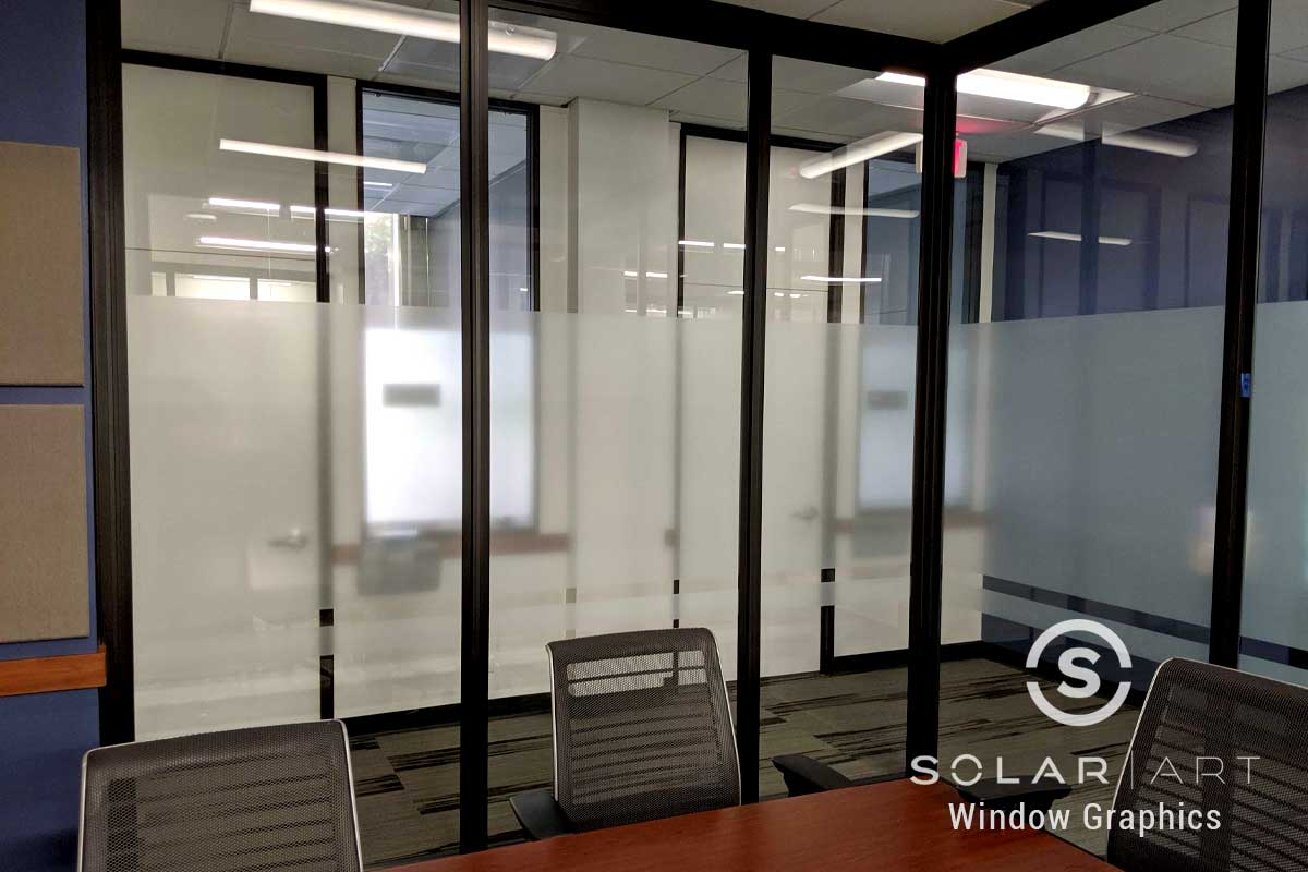custom graphics for office glass in irvine california