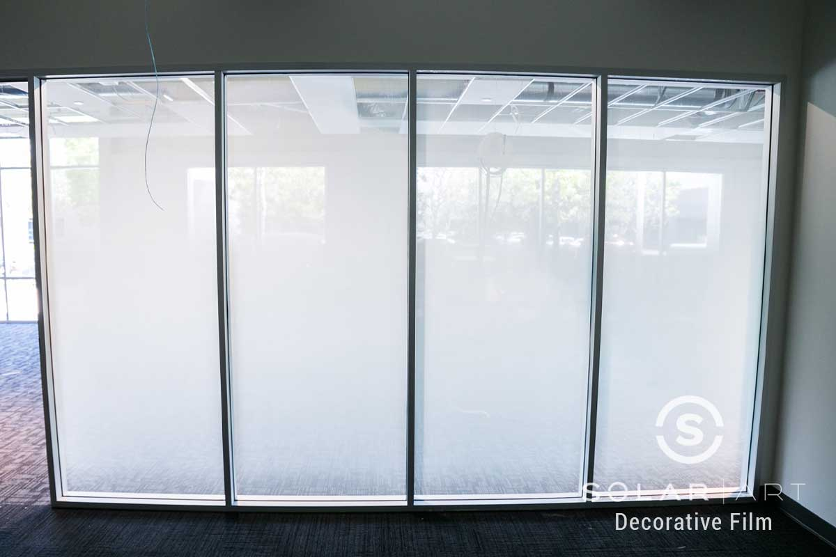 decorative window film for offices in santa ana