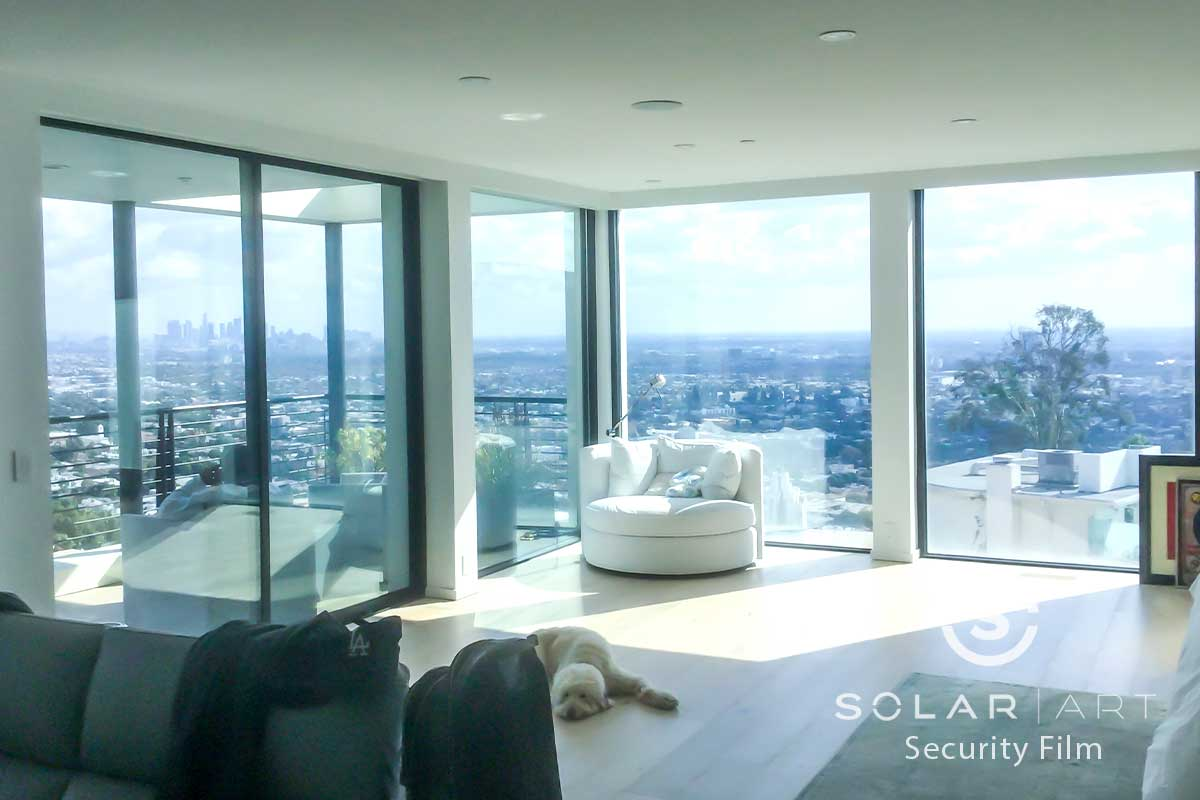 energy saving window film los angeles california