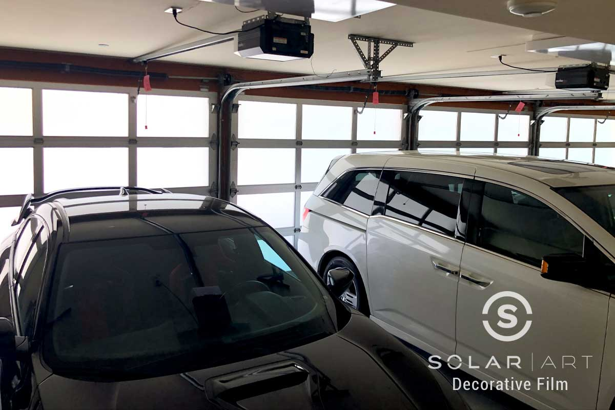 garage home window tinting pasaena california