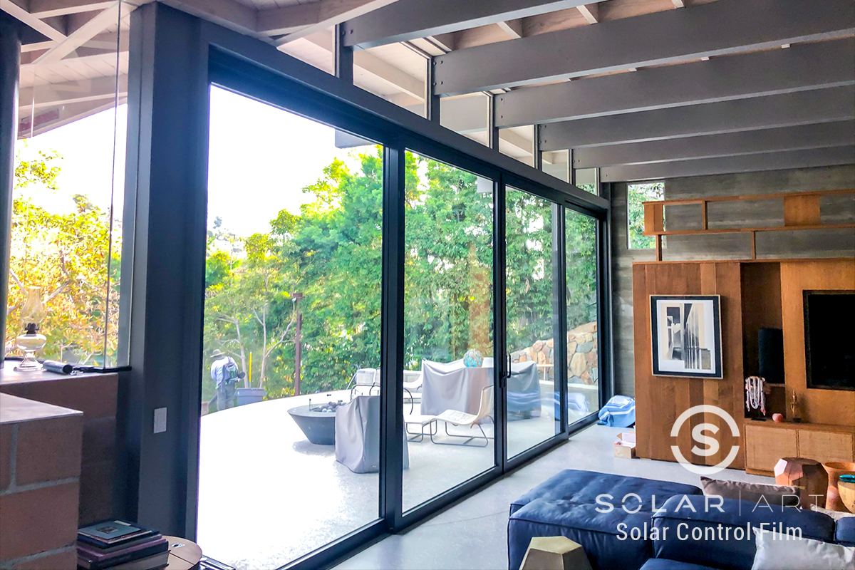 heat blocking window film for homes santa monica california