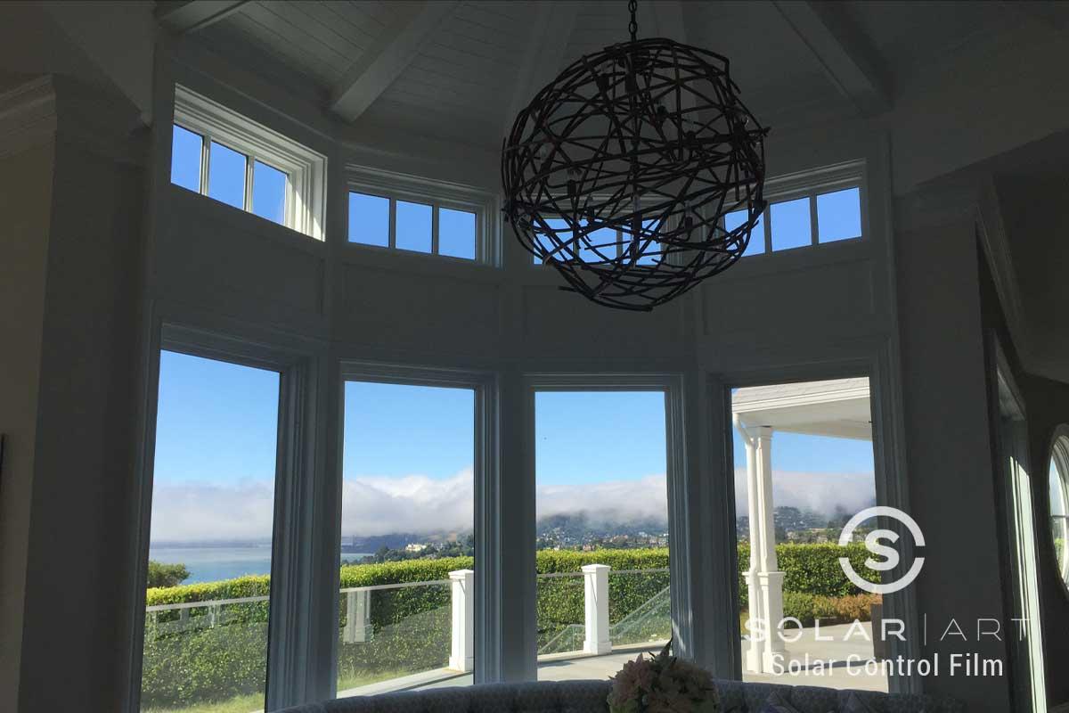 heat blocking window film for homes tiburon california