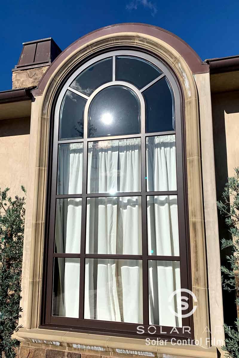 heat blocking window film for houses in long beach