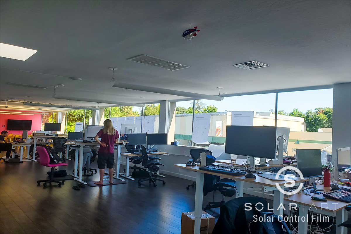 heat blocking window film for offices palo alto califorina