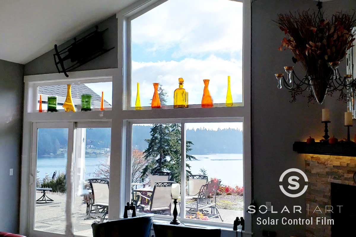 heat blocking window film gig harbor washington