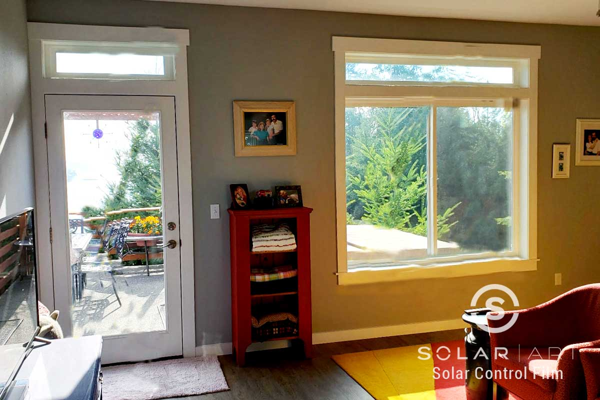 heat blocking window film in gig harbor washington