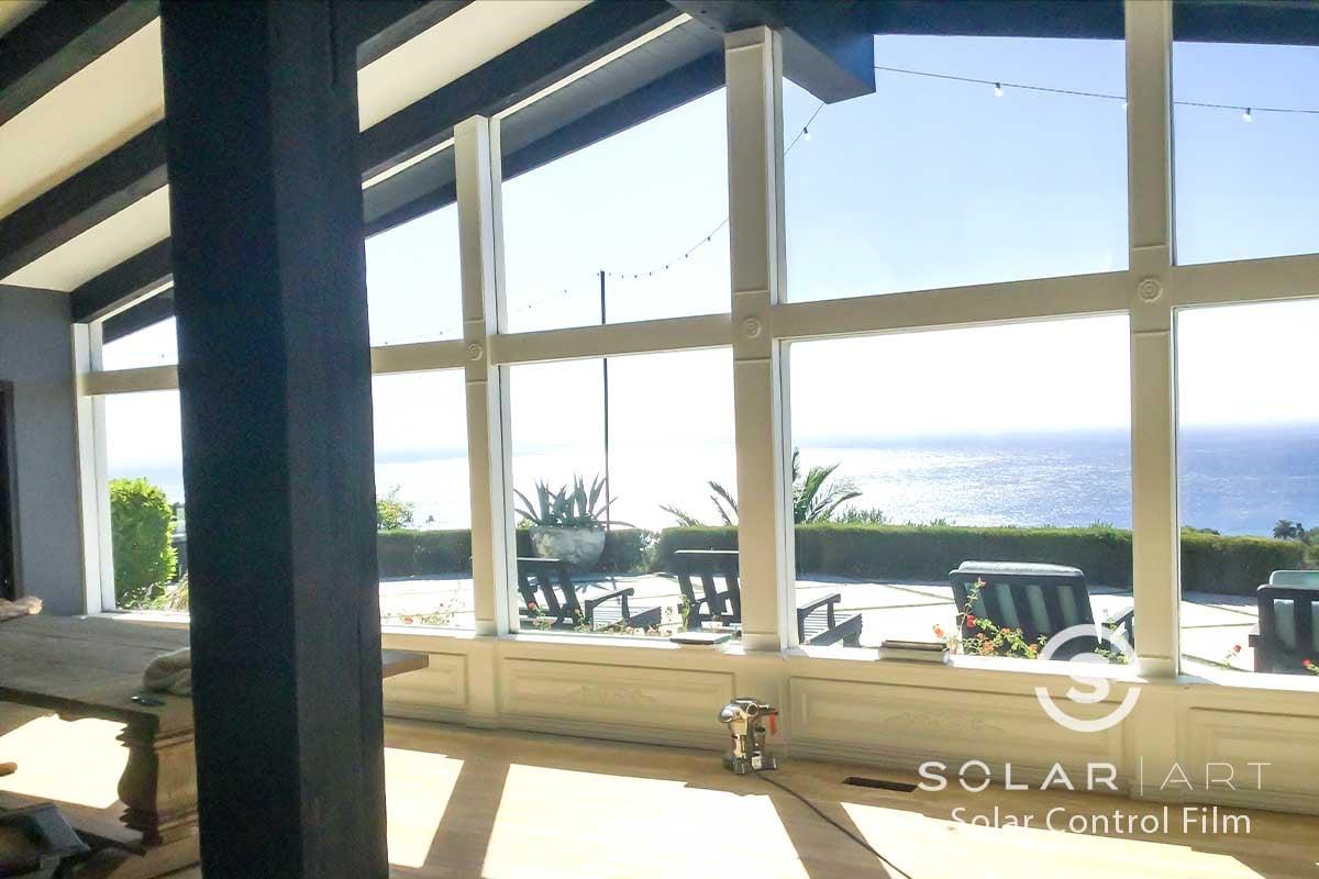 heat blocking window film malibu california