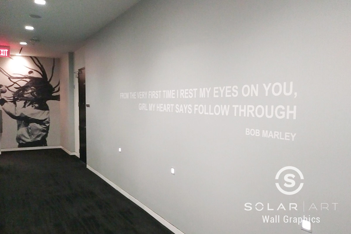 inspirational quote wall mural san diego