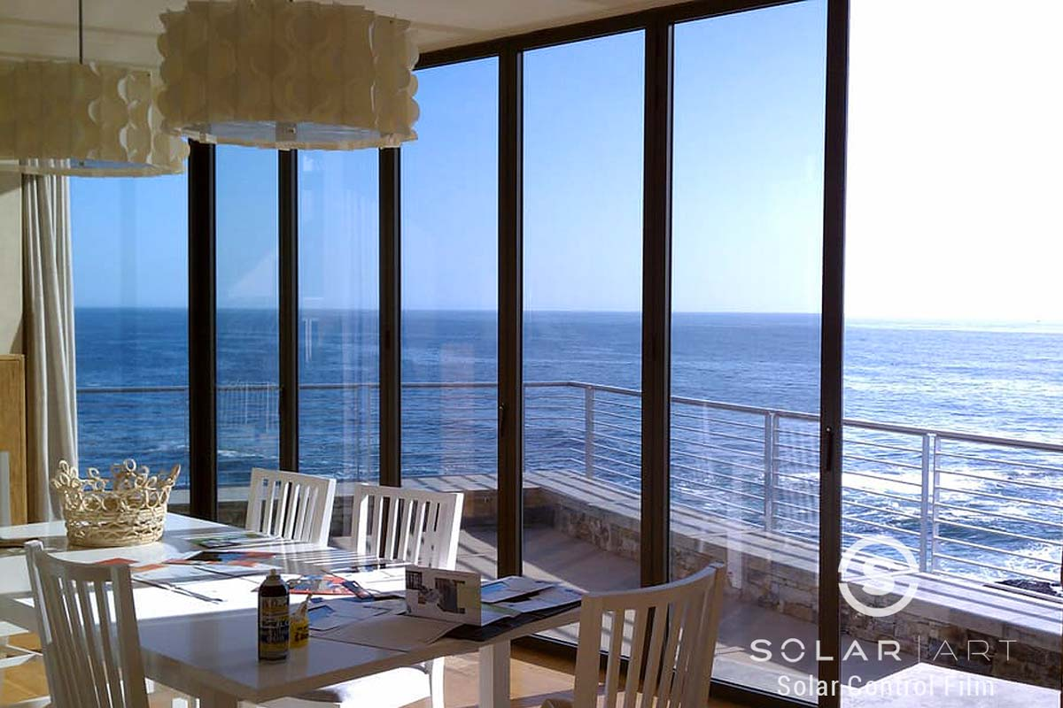 Laguna Beach solar window film