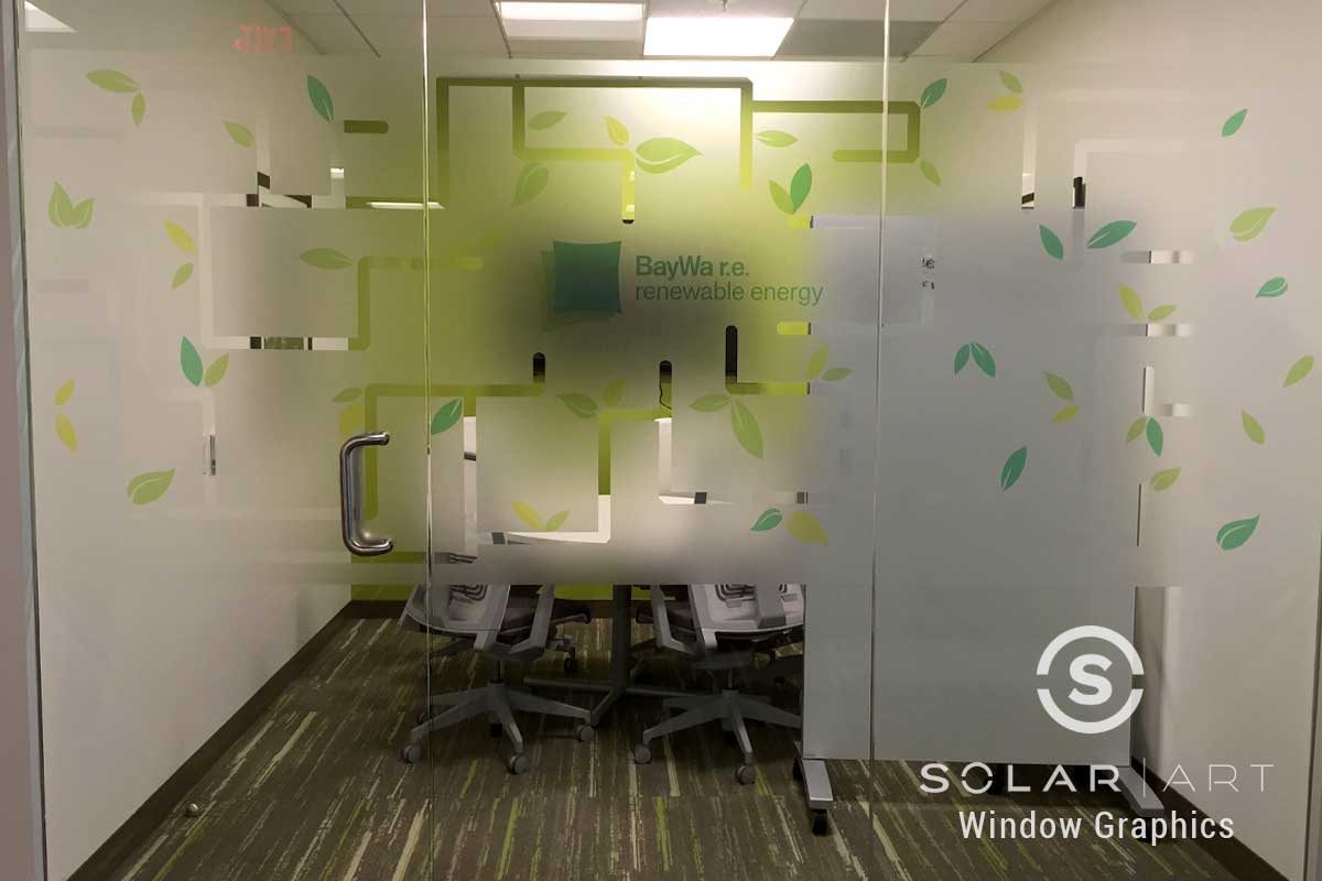office window custom graphics in irvine california