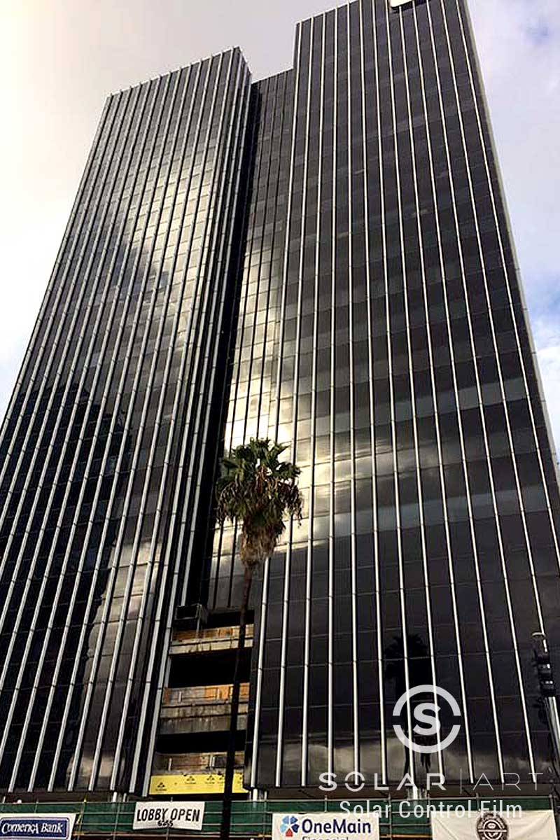 office window tinting los angeles