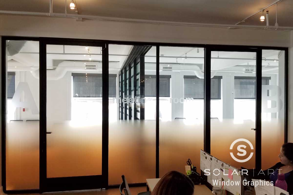 privacy window film office in los angeles