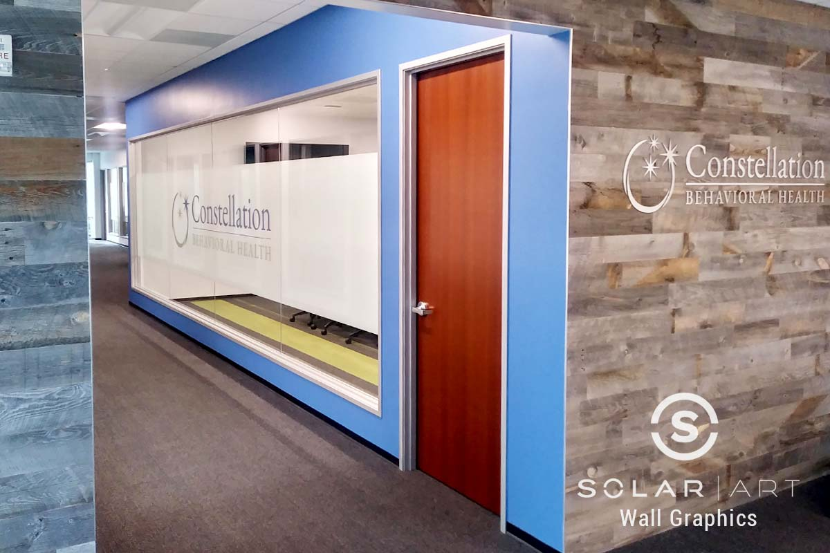 san diego custom wall art installation