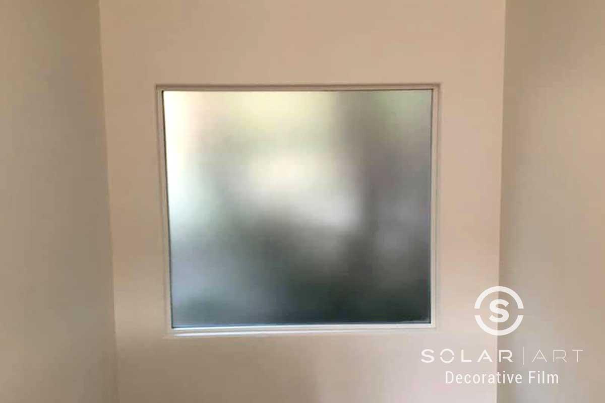 sandblast window film for glass laguna beach