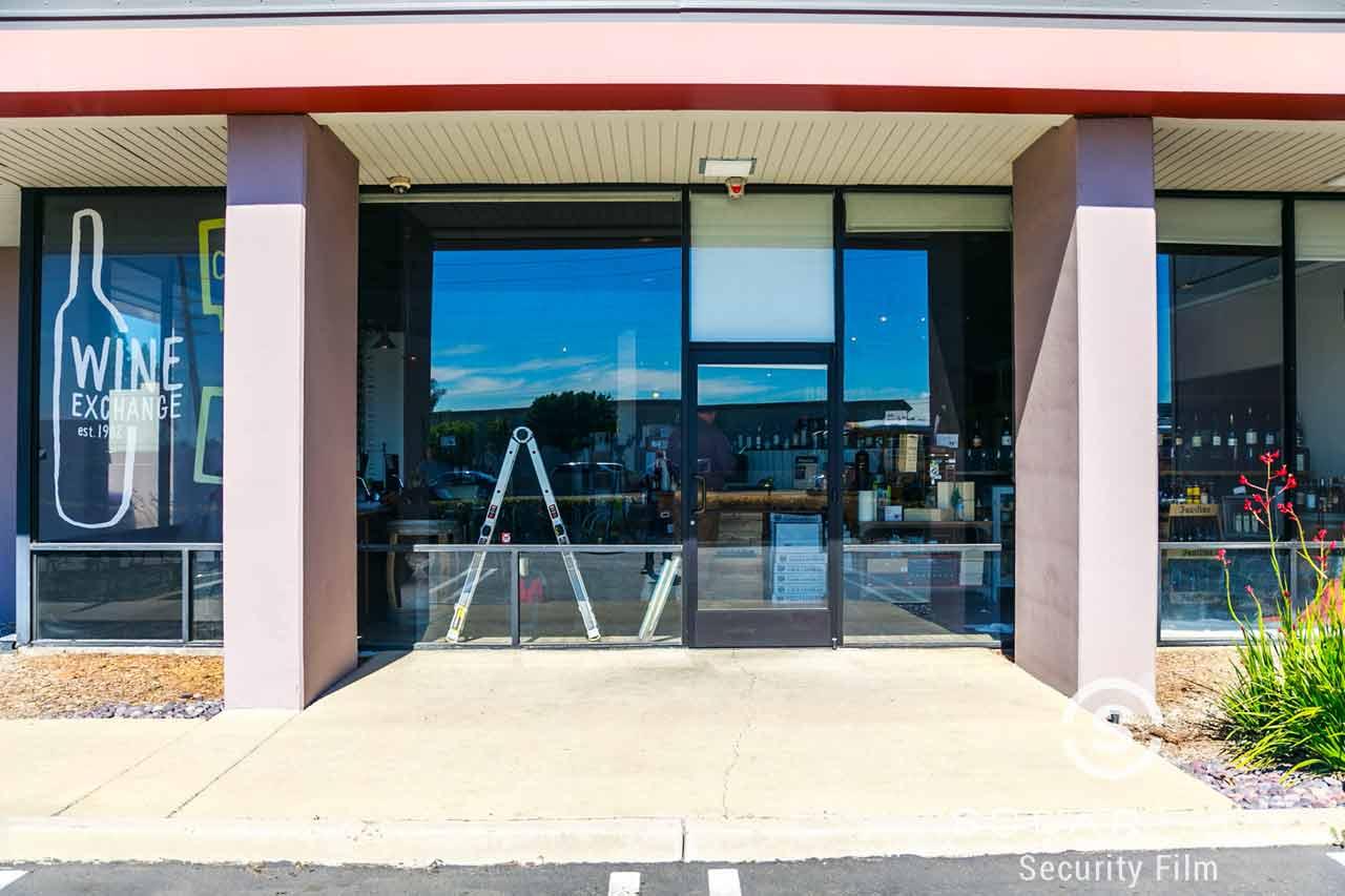 Window security film Santa Ana California