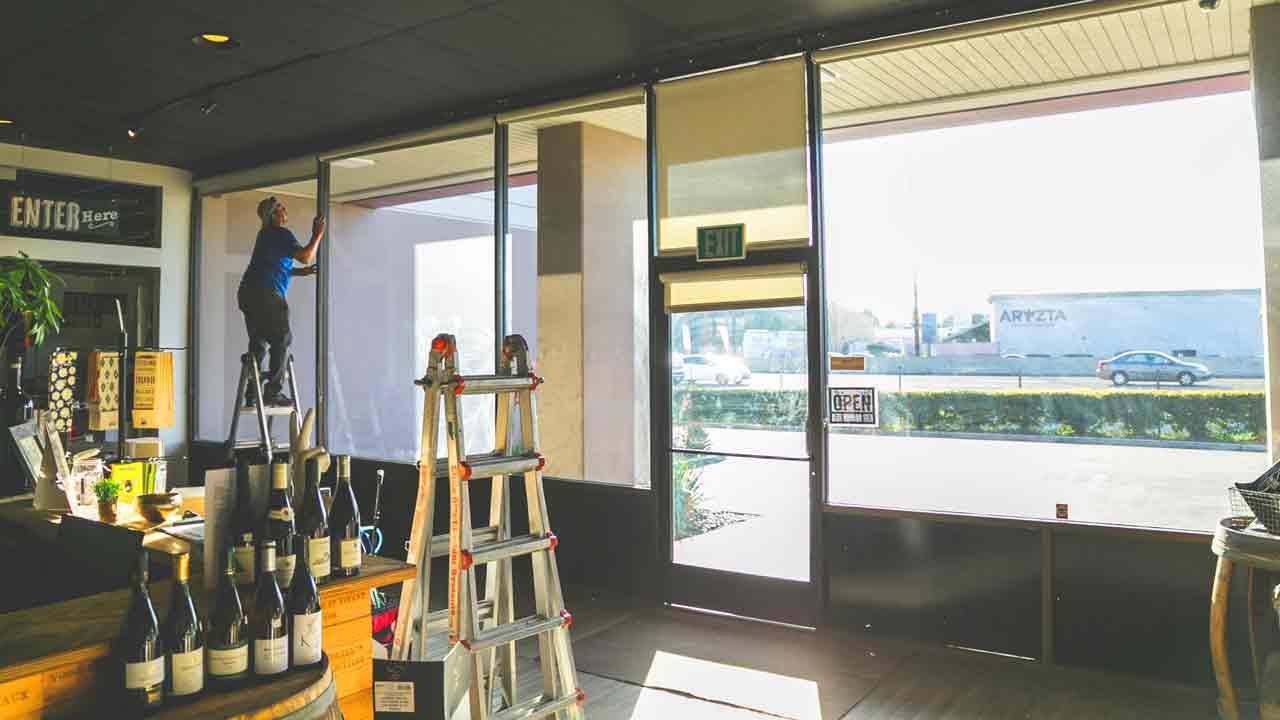 window security film commercial window film