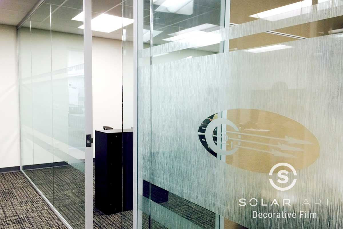 Solyx clear waters decorative window film