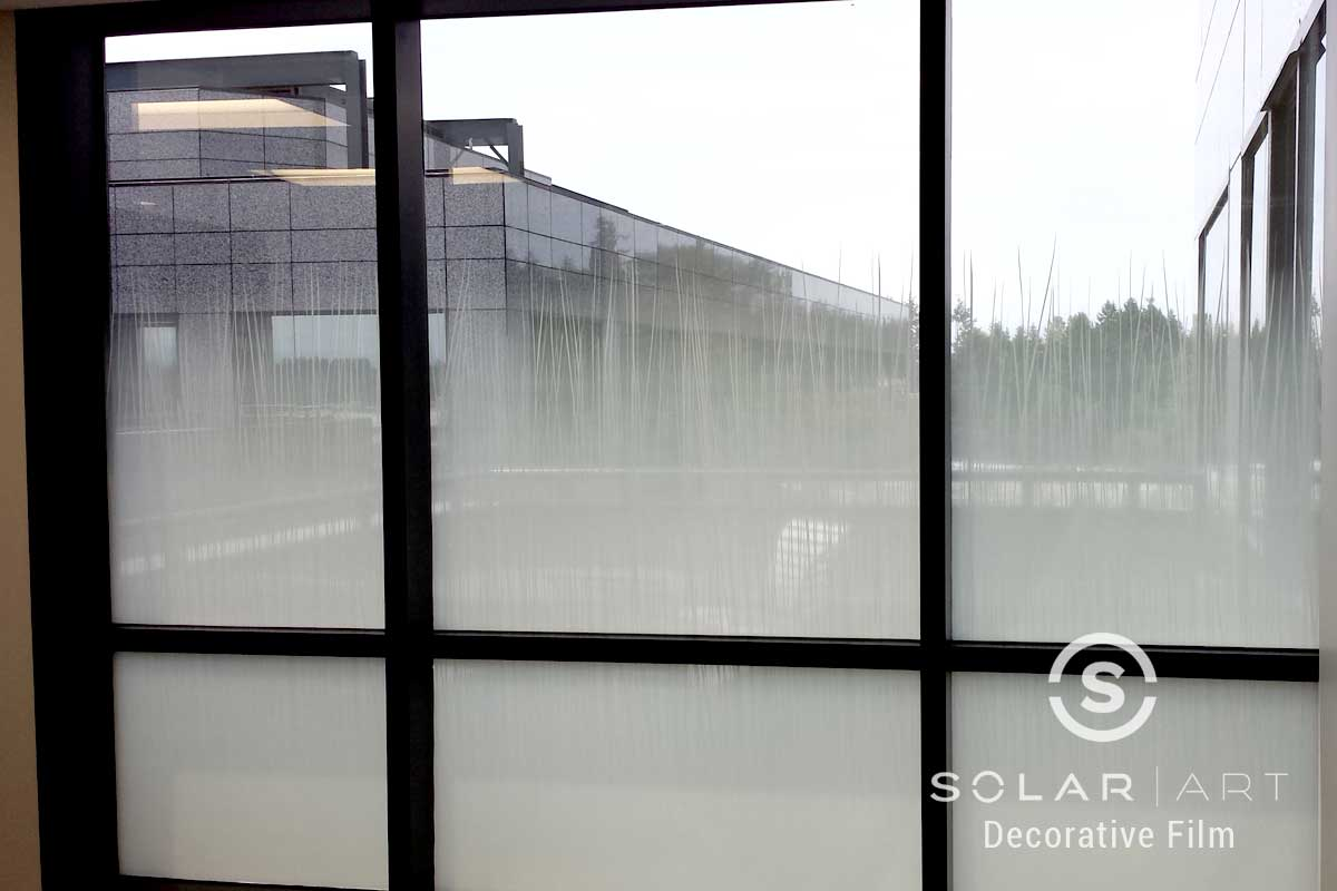 Solyx beach grass gradient window film
