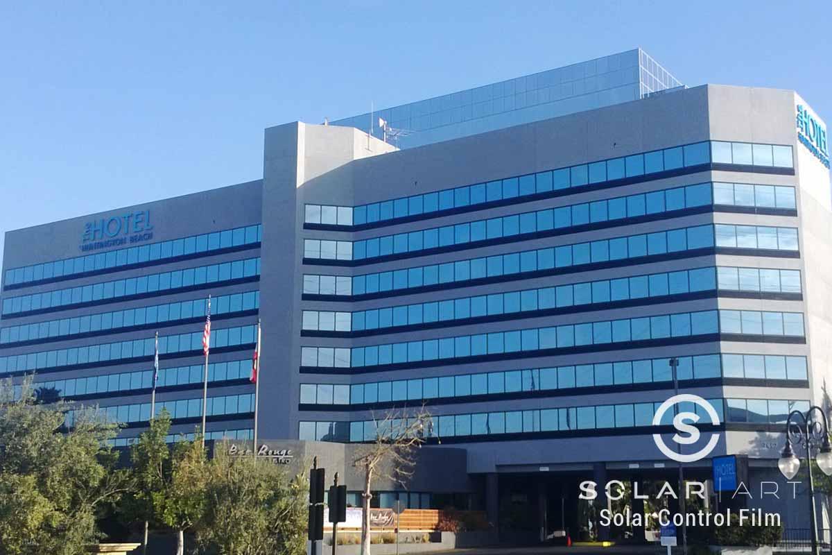 Energy efficient windows for Hotel Huntington Beach