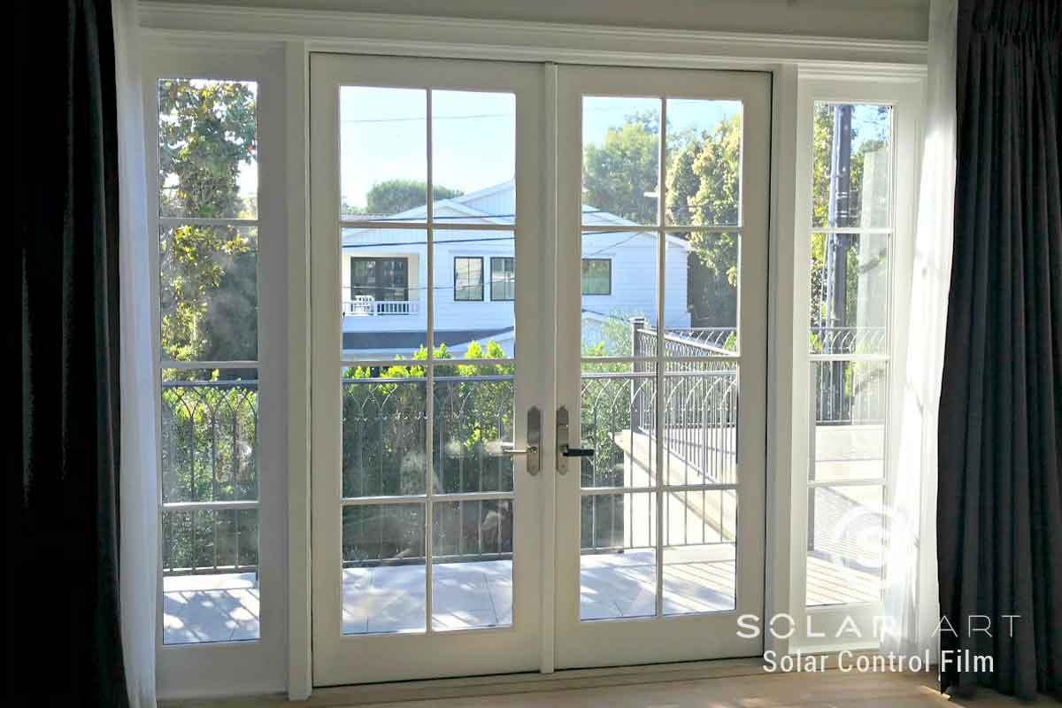 Fade protection with window film