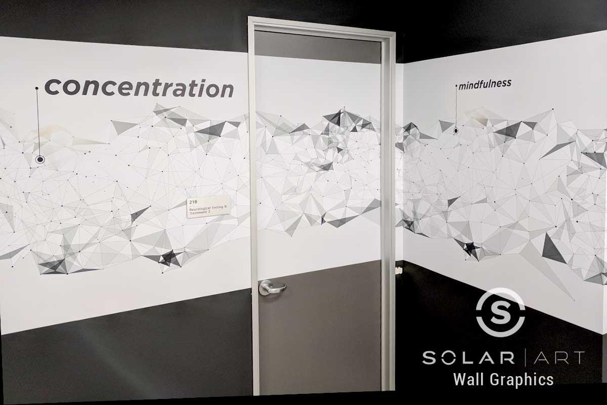 Vinyl wall graphics