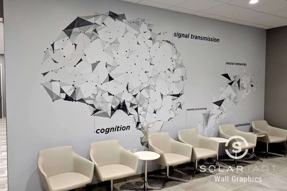 Wall graphics for doctors office
