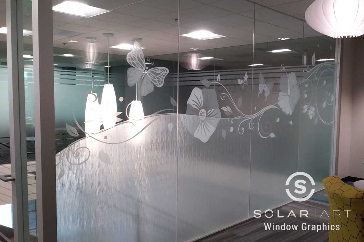 Custom pattern window graphics