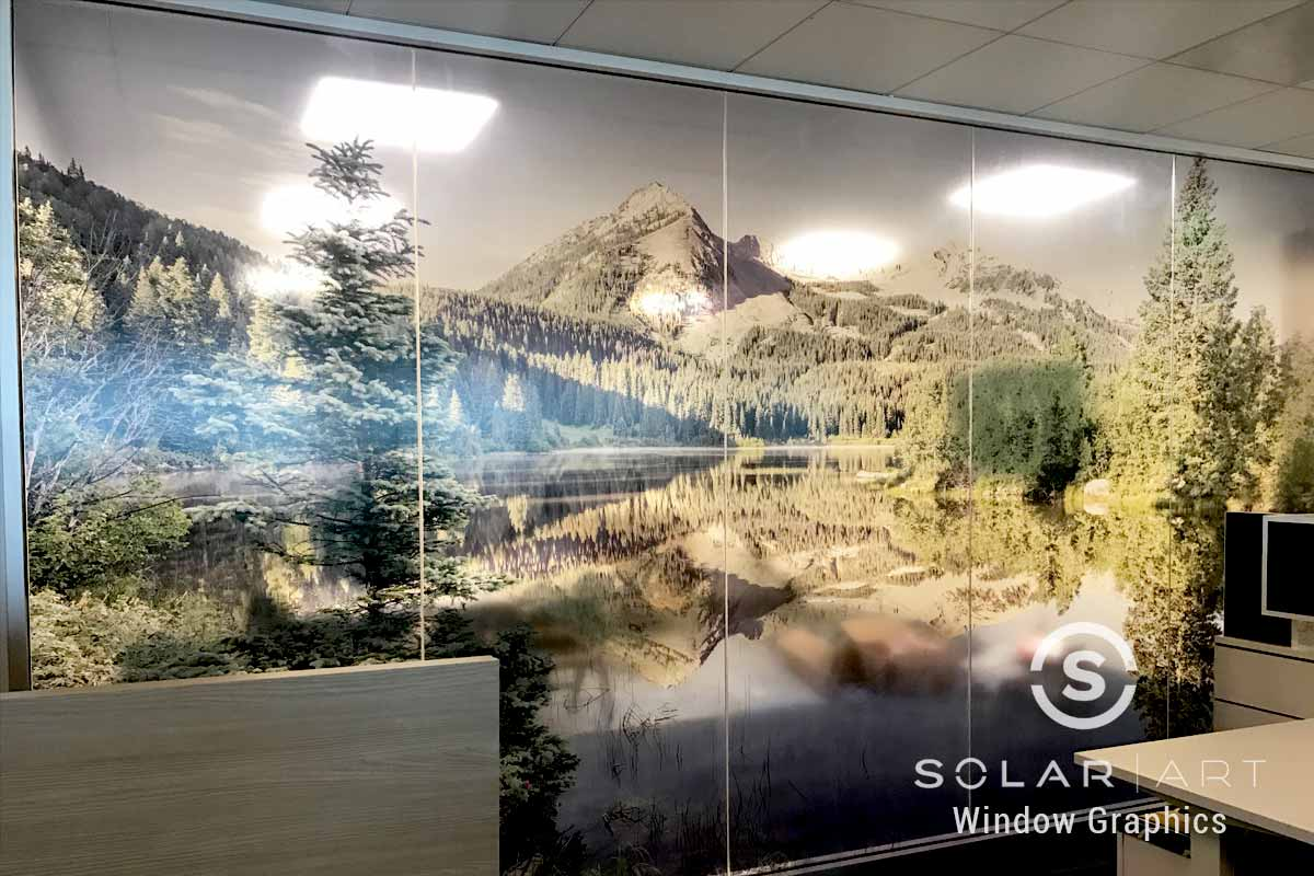 Nature image window graphics