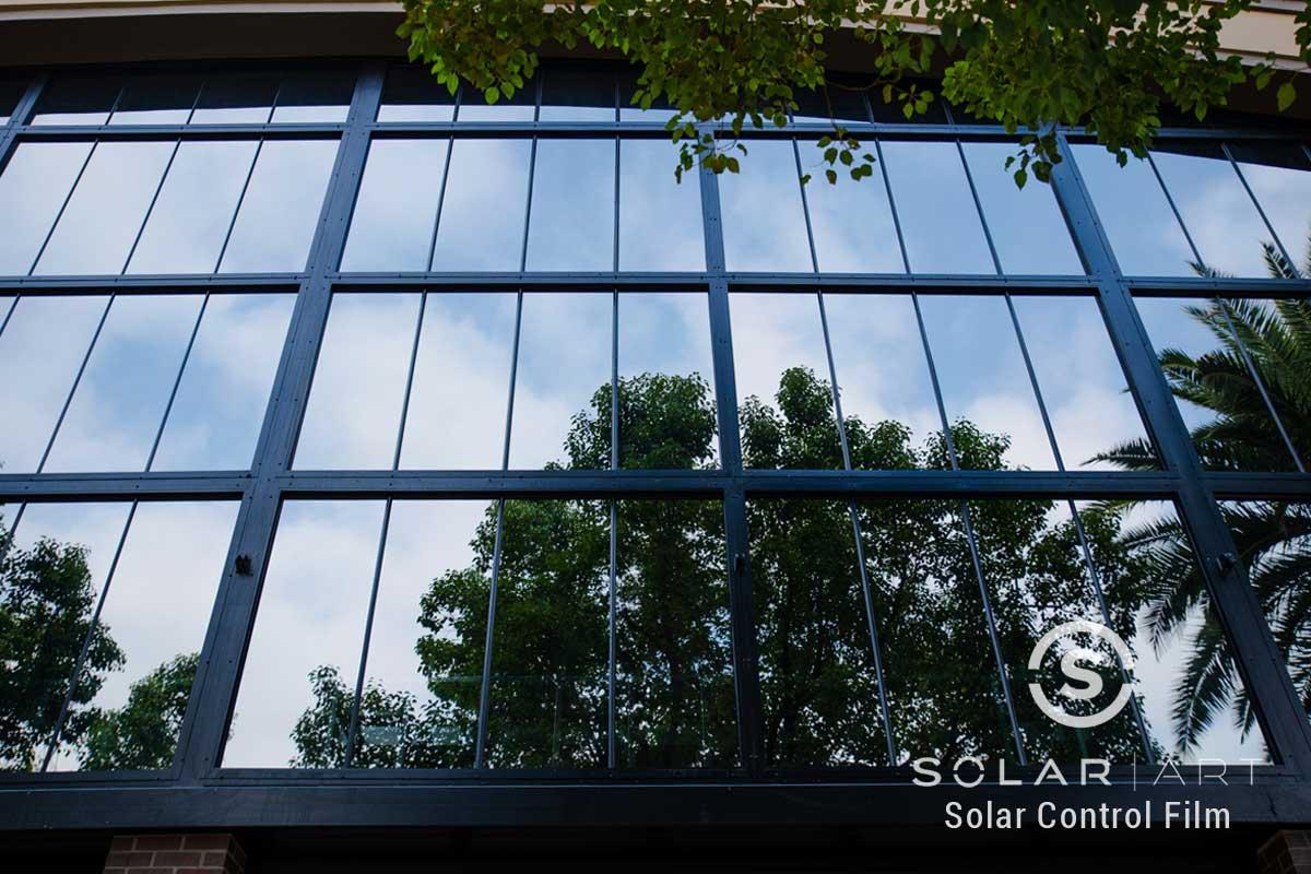 exterior window film for buildings in brea california