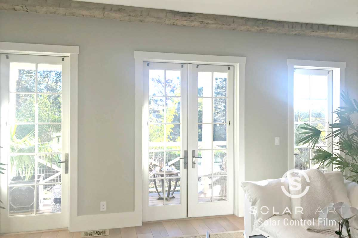 glare reducing window film for houses in san diego