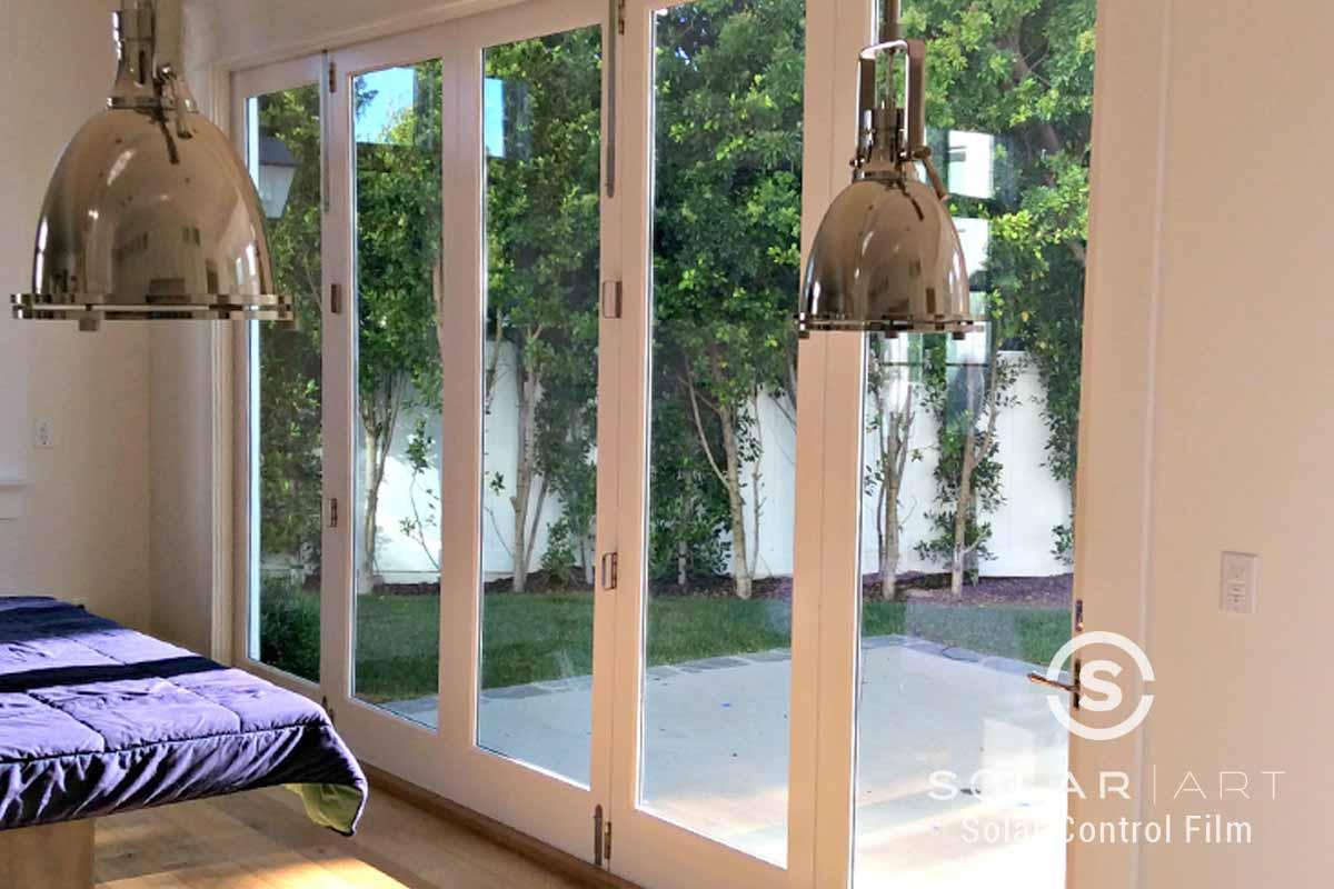 Ceramic window film for dining room