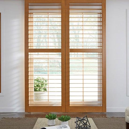 Plantain shutters