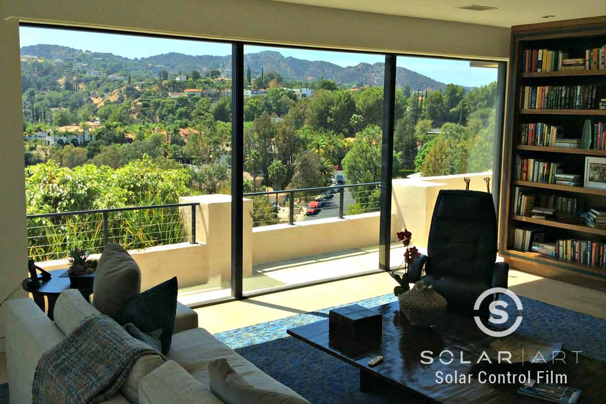 Window tinting for homes in Hollywood Hills