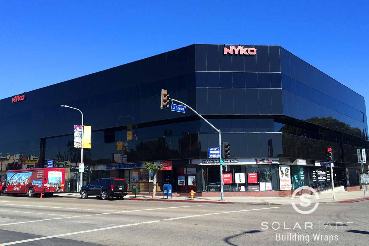 Los Angeles exterior window film