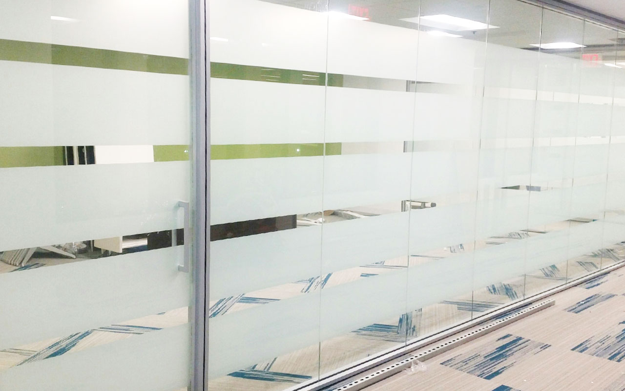 3m milano frost window film for offices