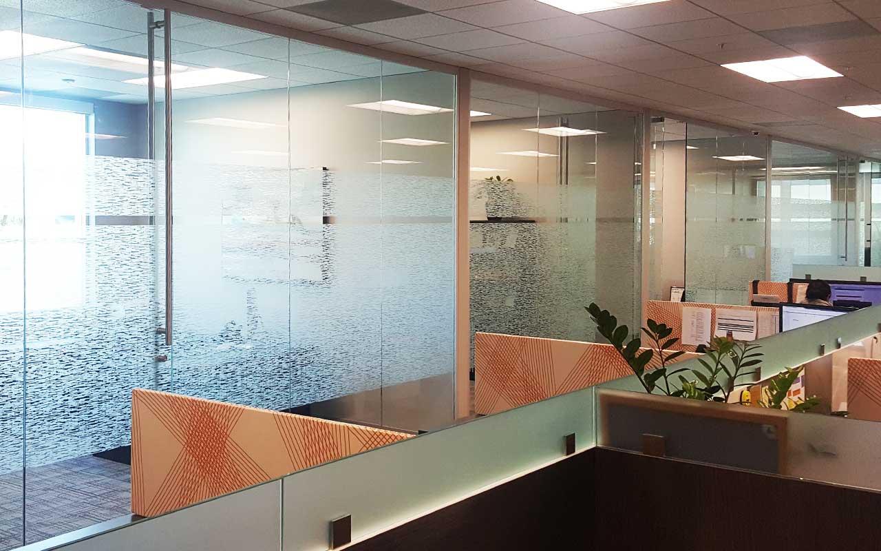 commercial decorative window film