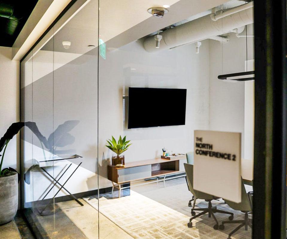 enhance office with decorative window film led blocking casper