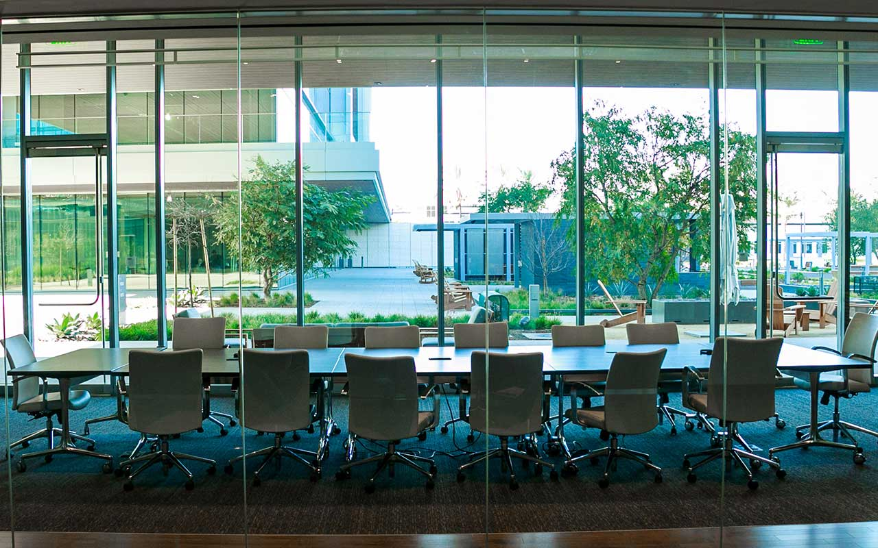 neutral solar window film for commercial office buildings