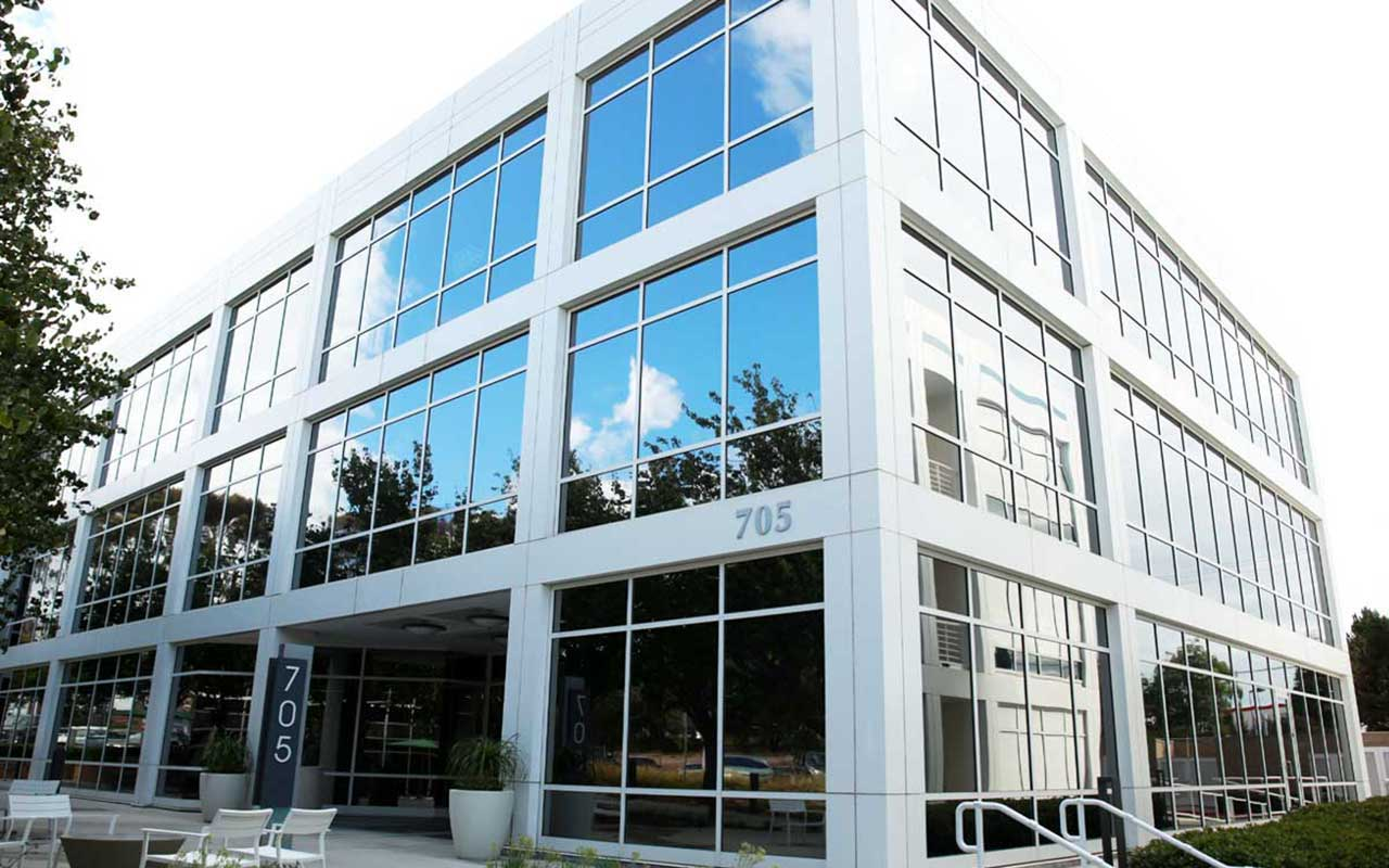 energy efficient window film for offices
