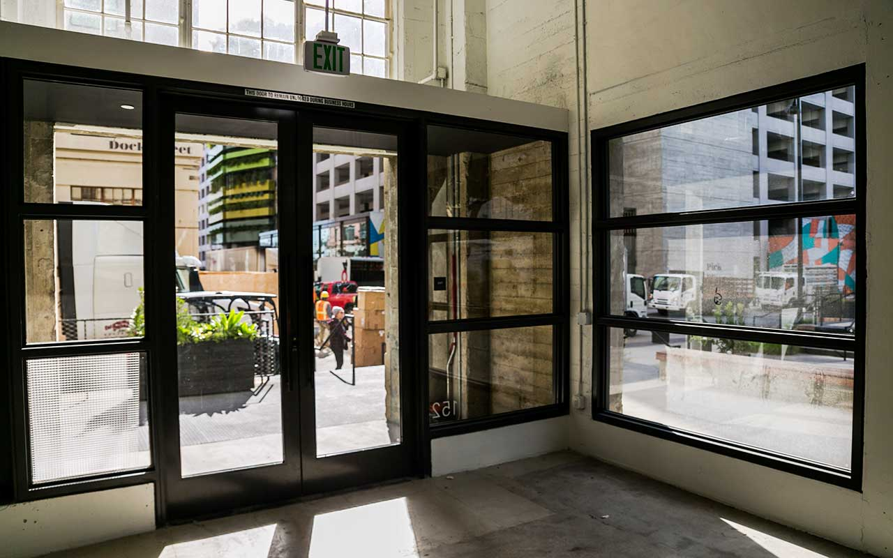 glare reducing window film for offices and businesses
