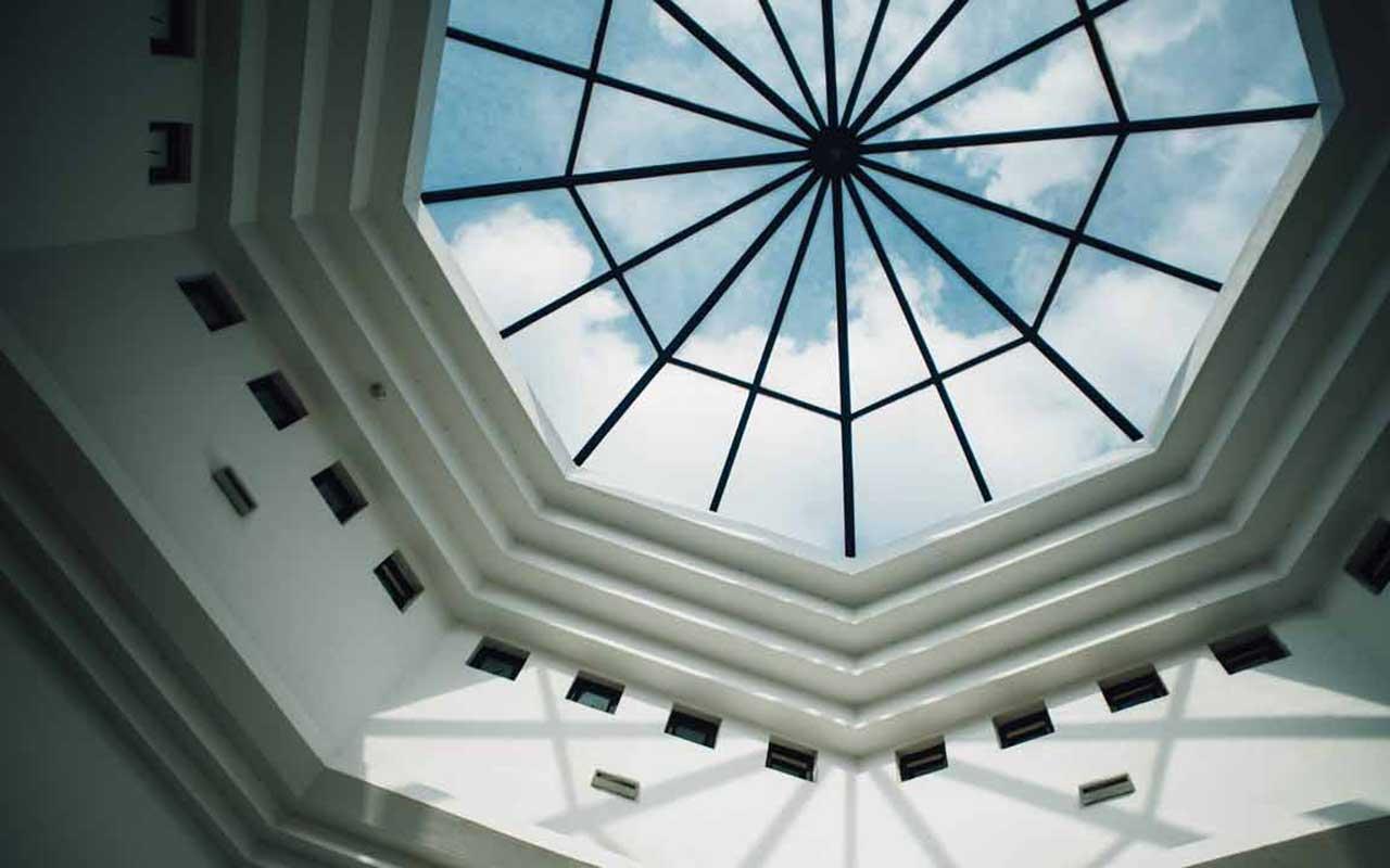 heat blocking window film skylights