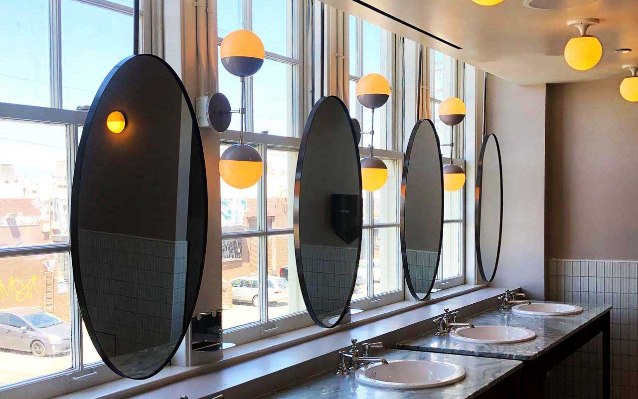 graffiti protection for mirrors and bathrooms