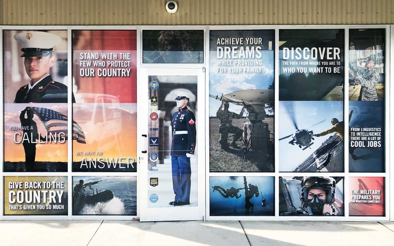 storefront-window-graphics-recruiting-center