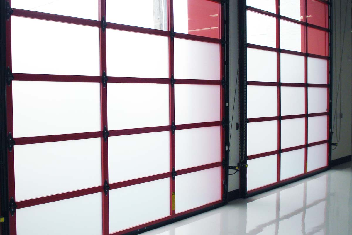 frosted window film garage