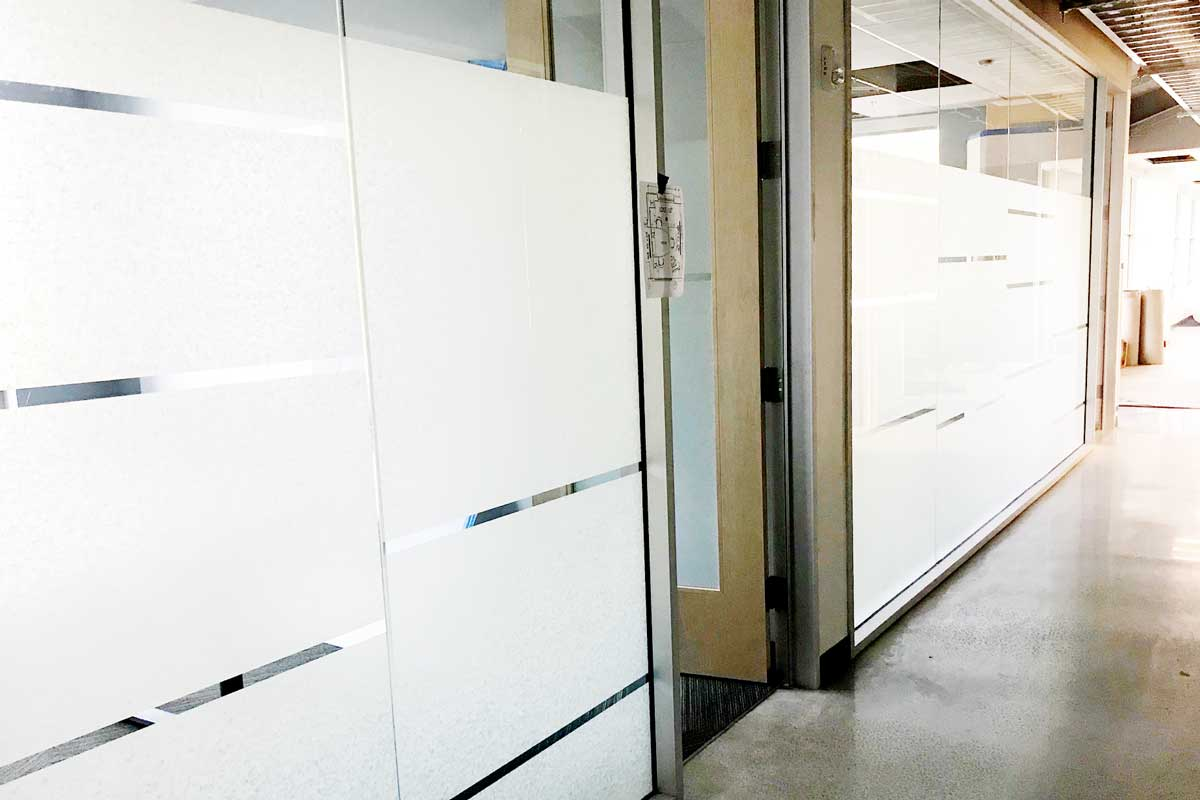 privacy window film for private offices