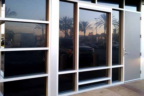 blackout window film for storefront