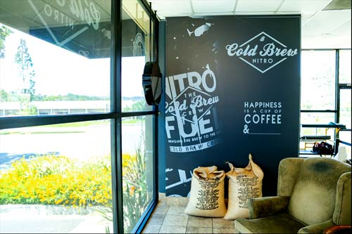 Coffee shop graphics