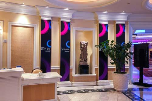 custom graphics conference branding
