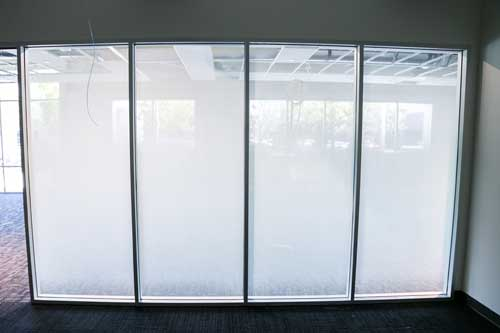 decorative window film for offices